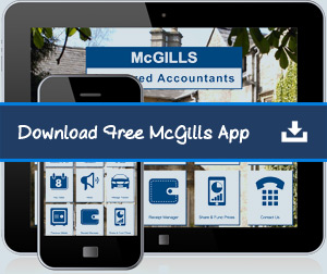 Keep up to date with the McGills App
