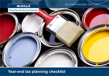 Year-end tax planning checklist