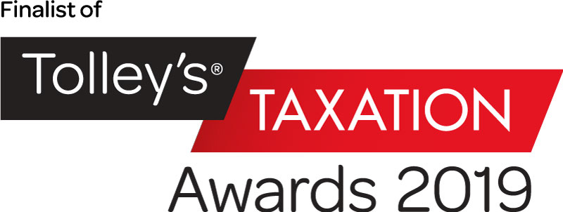 Finalist of Tolley's Taxation Awards 2019