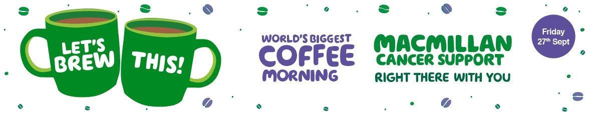 Mcgills Macmillan Coffee Morning